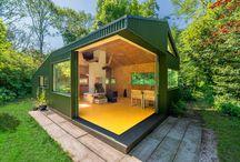 Cabanes en bois / Sélection, exemples et idées des plus belles cabanes en bois contemporaines, minimalistes ou rustiques.