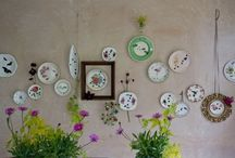 Wall Deco dishes
