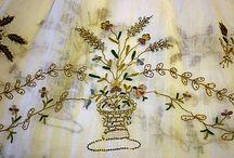 embroidery and needle arts / by Valeria Kondratiev