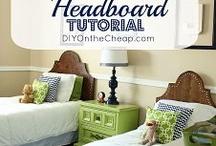 DIY--HEADBOARDS / by Jennifer Brown
