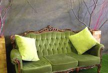 Vintage Sofas to hire for Weddings / #Weddinghire #sofahire #vintagesofa #vintagechairs #eventhire #prophire #eventprops #rococo