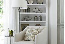 White and light home decor