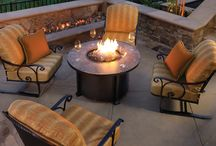 Fireside Furniture / Fire Side: Transform your patio with a fire pit table. One of the hottest trends in outdoor furniture. Fire pit tables add a dramatic look to your patio while keeping you warm during our Arizona winters. It's like having a campfire on your patio every night with out the maintenance! We feature OW Lee Fire Side Collection and Castelle's innovative all cast aluminum chat height fire tables.