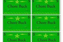 Chores chart etc... / by Kim Ginnetti