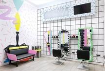 Beauty Station Interior Design / It can be hair salon, nail salon, esthetics, spa, lash bar, etc