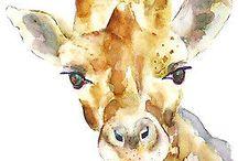 zvířata malovana