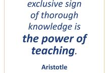 The Power of Teaching and Learning / Some thoughts on teaching and learning that will inform and inspire.
