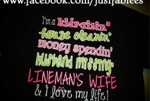 The life of a lineman's wife