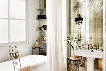 guest bathroom / by Shelby Soyars