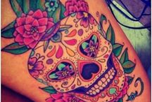New sugar skull tattoos