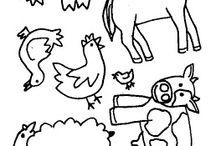farm animals - ciftlik hayvanlari