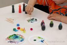 Farben und Experimente