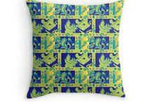 pillows bohemian style / pillows bohemian, boho chic, hippie, gypsy, home decor, cute design