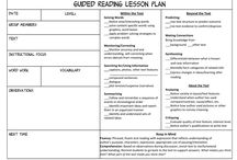 Templates for lessons