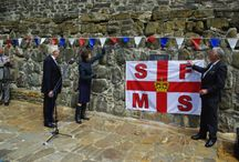 175th anniversary celebrations in Clovelly / HRH Princess Anne attended the event in Clovelly, where Cornish Singers Stamp and Go performed a song written especially for the event.