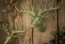 Wilko | Rustic Glow / Bring the outdoors in with gold and sage decorations from our Rustic Glow range
