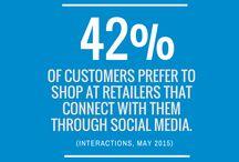 Social Media Statistics / Fun, interesting, and jaw-dropping social media statistics.