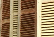wood finish & pallets