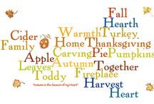 sayings Thanksgiving / by Cheryl Mayo