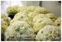 Flowers backstage by Flavia Bruni / ...dietro le quinte di un evento!