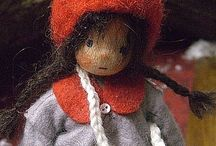 waldorf flower dolls