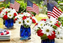 4th of July Fun / Find great kids' crafts, activities and recipes for the 4th of July. / by Capri + 3