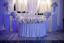 Tiffany Cook's version of the 2014 Wedding Trend Black & White Weddings / NFL Black White & Bling Wedding Tiffany Cook Style