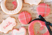アイシングクッキー バレンタイン