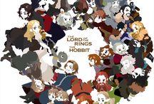 Hobbit & Lotr Drawings
