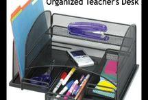 third grade classroom/ teacher desk