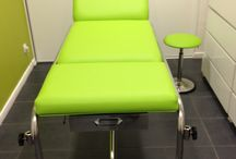 SELLERIE Médicale / Nous réalisons tout travaux de sellerie médicale : table et  fauteuil d'examen, tabouret, salle d'attente...