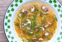 Bez masa-jarní polévka