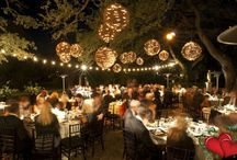 wedding ideas/ backyard set up