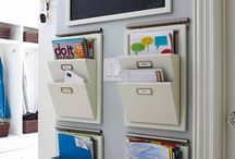 Organizational Ideas / Organizational ideas for the home, office, kids rooms, bathroom, kitchen, etc.