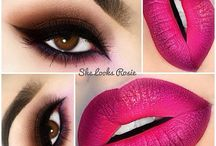 Pink lips 6/16 / Make up look for June 2016