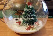 Navidad Ann Friks Original / Bolitas de navidad, tarjetas, decoración navideña, etc.