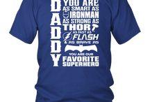Daddy Superhero 2018 T Shirt
