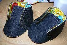 Детская обувка - рукоделие