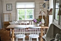 Dining spaces / by Cathy Edstrom