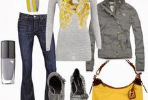 Keltaiset vaatteet/asusteet