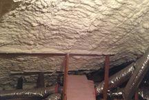Spray Foam Insulation / Open Cell Spray Foam Insulation