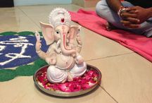 Ganesh Chaturthi Celebration in Zapbuild / Ganesha Chaturthi is the Hindu festival celebrated on the birthday (rebirth) of Lord Ganesha, the son of Shiva and Parvati. It's an important Hindu festival, celebrated with great prompt and enthusiasm.