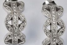 Earrings - Symmetry Jewelers / Beautiful and elegant earrings crafted with a variety of metals and gemstones designed by Tom Mathis of Symmetry Jewelers in New Orleans. May not all be available immediately; call to inquire or custom order yours.