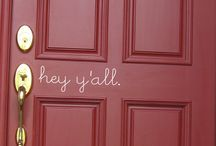 Front Door Vinyl ideas