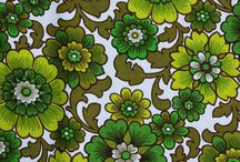 1960s fabrics / Amazing, crazy, psychedelic and funky. 1960s patterns rule!