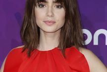 Mid-length hairstyles
