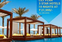 Lily Plan – 3 Star Hotel Packages in India