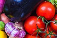Growing seeds veges fruit