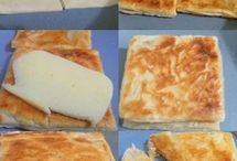 Tost makinesinde milföyden tost