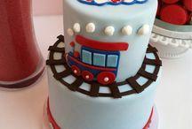 Jack's 4th birthday cake / by Katie Hopkins